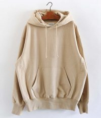 tone COTTON HOODED SWEAT [BEIGE]