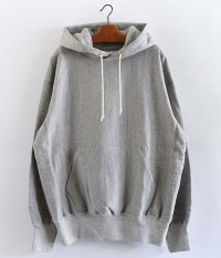 tone COTTON HOODED SWEAT [ASH]