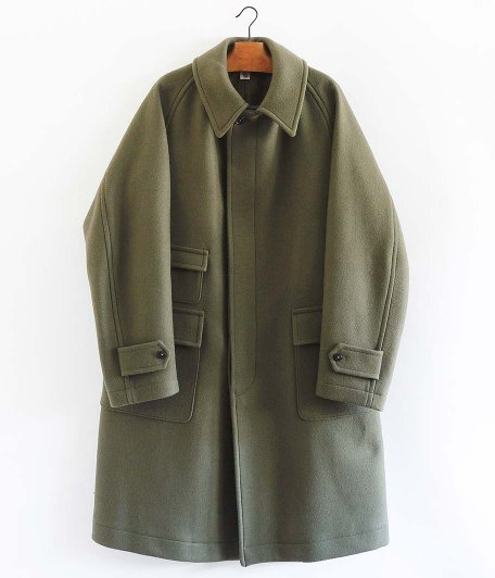KAPTAIN SUNSHINE Traveller Coat [SMOKEY GREEN]