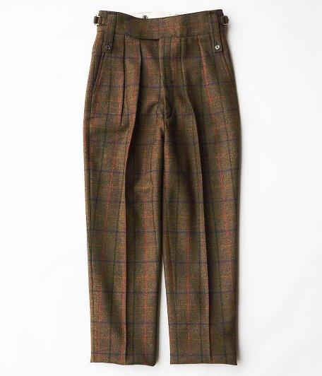 NEAT Lovat Tweed Beltless [OLIVE]