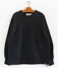 ANACHRONORM Crashed Sweatshirt [BLACK]