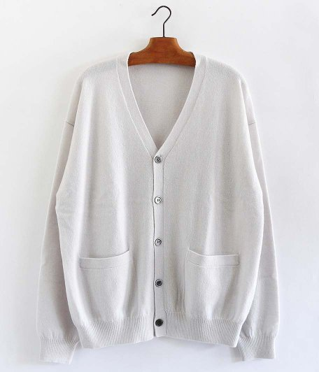 crepuscule Cashmere Cardigan [WHITE]