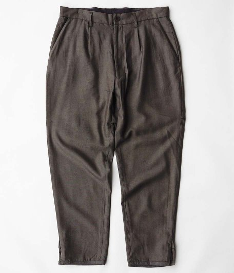 HOMELESS TAILOR HIP GUSSET PANTS [BROWN]