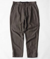 HOMELESS TAILOR HIP GUSSET PANTS [BROWN]
