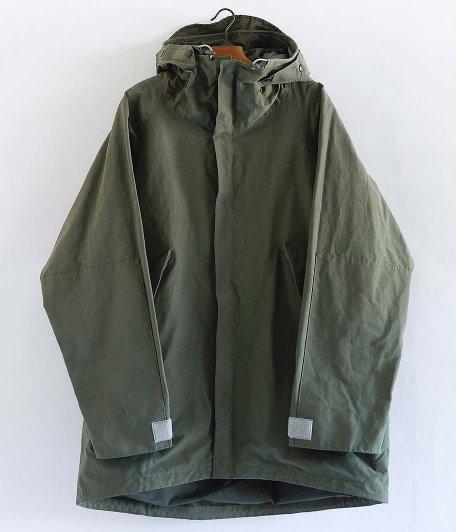CORONA G-1 Parka Coat [NYLON + COTTON GROSGRAIN CLOTH / SAGE GREEN]