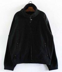 フレンチミリタリータイプフリースジャケット [BLACK]