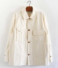 POLYPLOID WORKWEAR JACKET A [OFF WHITE]