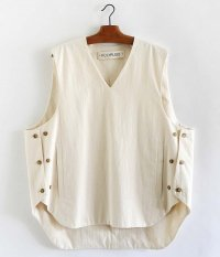 POLYPLOID VEST A [OFF WHITE]