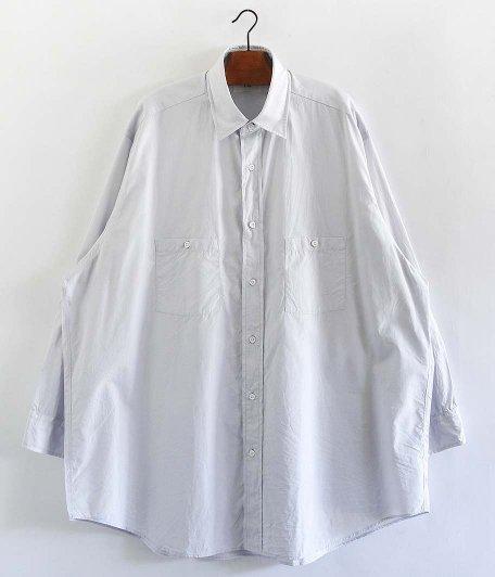 HERILL Suvin Work Shirt [LIGHT GRAY]