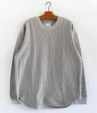 CURLY CLOUDY L/S TEE [LT.GRAY]