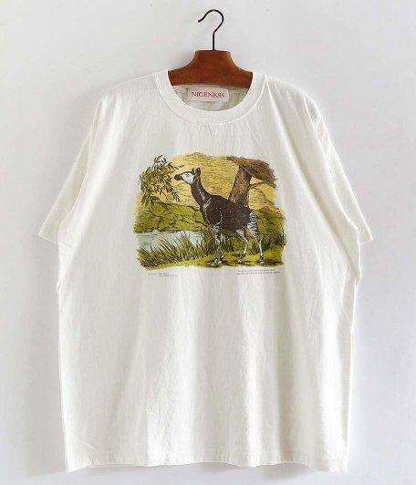 NICENESS BERNARD NNビンテージ珍獣Tシャツ [OKAPI]