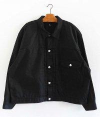 KAPTAIN SUNSHINE Black Tracker Jacket [BLACK]