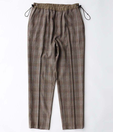 WELLDER Drawstring Trousers [BROWN]