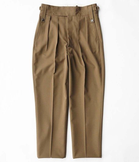 NEAT MAX CANVAS Beltless [TAUPE]