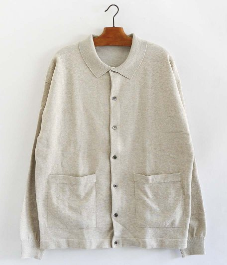 crepuscule Knit shirt [BEIGE]