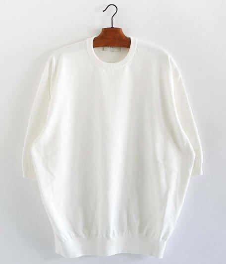 HERILL Cotton S/S Crewneck [WHITE]