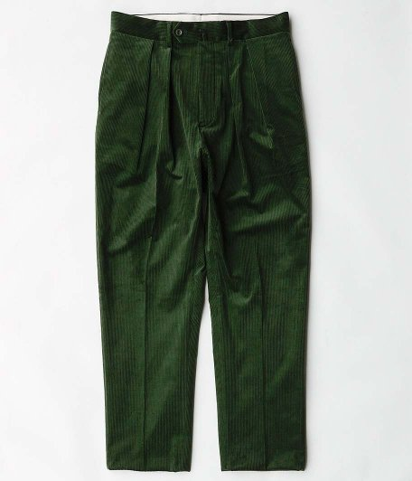 NEAT French Corduroy Tapered [GREEN]
