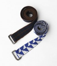 Bedlam BROWNIE AND ZIPPY INDIA BELTS [BROWN / NAVY , SILVER / BLUE]