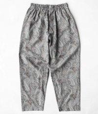 KAPTAIN SUNSHINE Athletic Easy Pants [GREY PAISLEY]