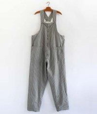 KAPTAIN SUNSHINE Deck Trouseres [ECRU × BLACK ST.]