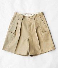 NEAT The Katsuragi Cargo Shorts [BEIGE]