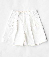 NEAT The Katsuragi Cargo Shorts [WHITE]