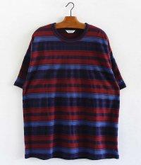 WELLDER Crew Neck T-Shirt [Bordeaux]
