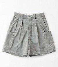 NEAT French Corduroy Cargo Shorts [GRAY]