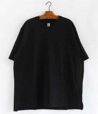 KAPTAIN SUNSHINE Crew Neck Pullover Tee [BLACK]