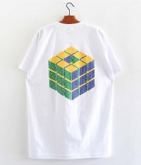 SOWBOW 蒼氓 CUBE S/S Tシャツ [WHITE]