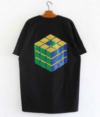 SOWBOW 蒼氓 CUBE S/S Tシャツ [BLACK]