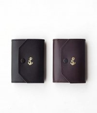 THE SUPERIOR LABOR for RADICAL Exclusive Small Wallet [American Aniline Leather / BLACK , BROWN]