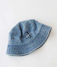 gourmet jeans for RADICAL GJ刺繍 HAT [LIGHT BLUE]