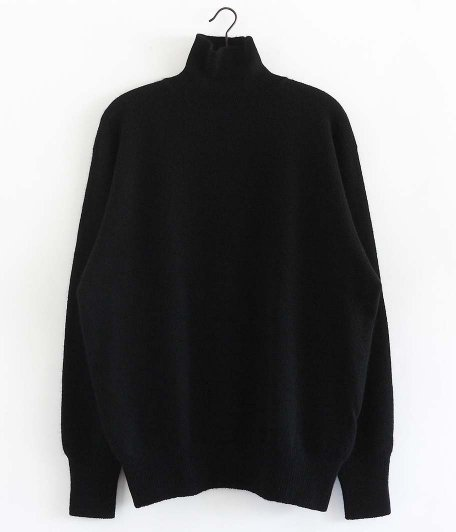 HERILL Wholegarment Turtleneck [BLACK]