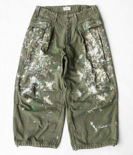 HERILL Duck Splash Cargo Pants [Olive Drab]
