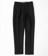 NEAT Wool Gabardine Tapered [BLACK]