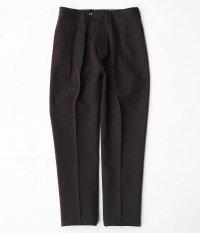 NEAT Wool Gabardine Tapered [BROWN]