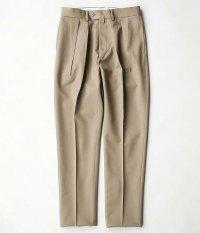 NEAT Wool Gabardine Tapered [BEIGE]