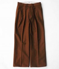 NEAT Buffalo Cloth Pigment Print WIDE [BROWN]