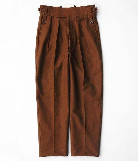 NEAT Buffalo Cloth Pigment Print Beltless [BROWN]