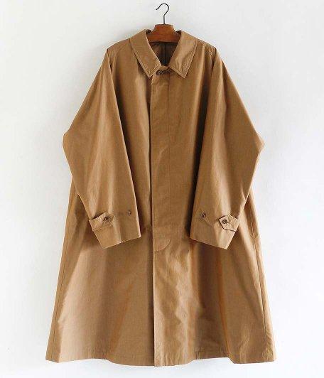 A.PRESSE Balmacaan Coat [BEIGE]