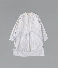 30's フレンチプルオーバーロングシャツ