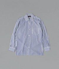 ユーロストライプロングスリーブシャツ
