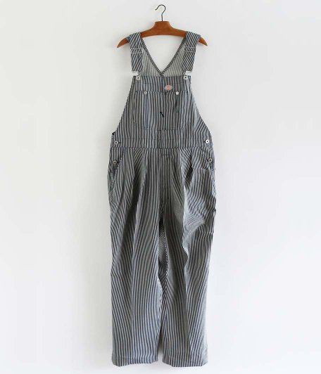 NEAT Dickies Overall for NEAT [NAVY × WHITE]