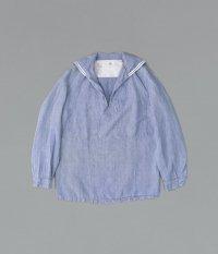 60's フランス軍 リネンセーラーシャツ