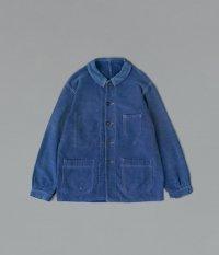 50's ブルーモールスキンフレンチワークジャケット