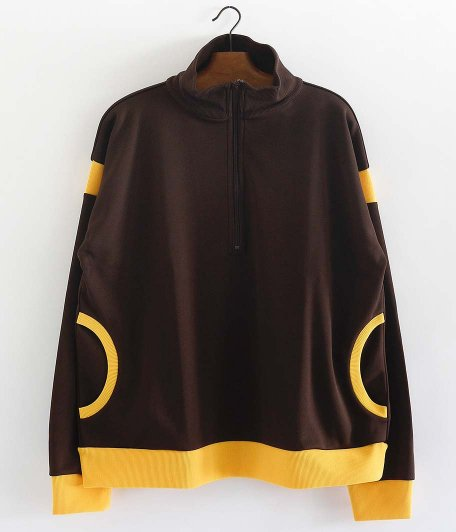 DRESS 588 H/Z Jersey [BROWN × YELLOW]