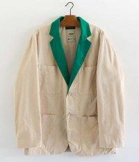 DRESS Trader Jacket [IVORY × GREEN]