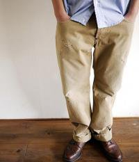 ANACHRONORM reading Damaged Chino 6p Pants(Hard Washed)