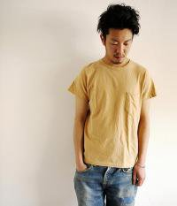 ANACHRONORM Clothing Slab Poket S/S T-shirt CAMEL